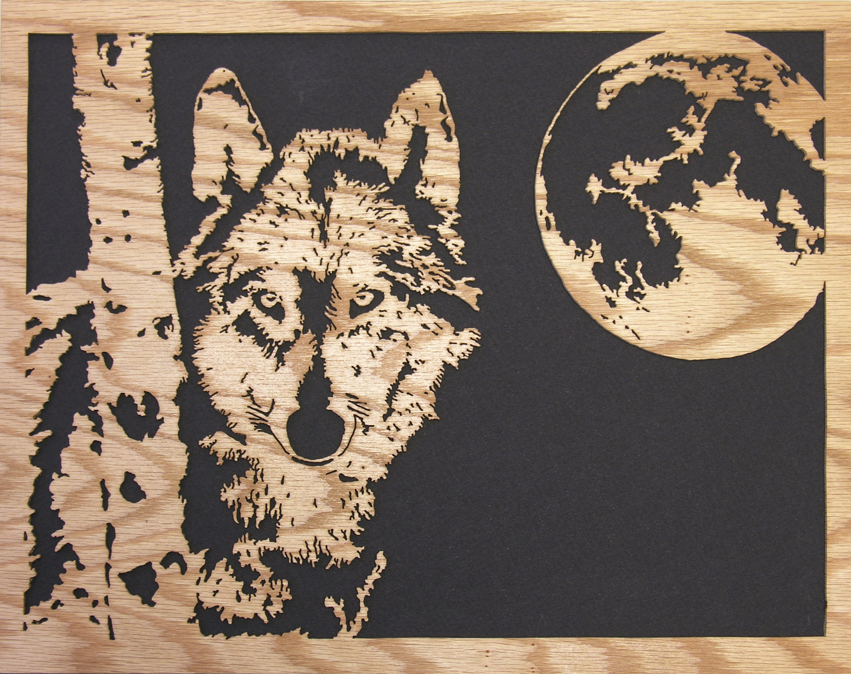 Pics For > Wolf Scroll Saw Patterns