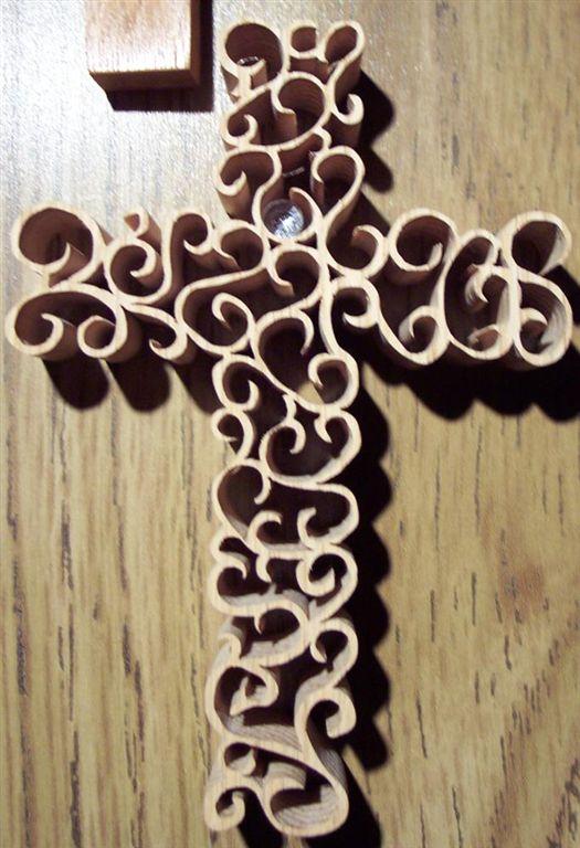 Cedar Cross Pattern From Scroller Ltd Fascinating Scroll Saw Cross Patterns