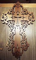 Cedar Cross; Pattern from [url=http://www.scrollerltd.com/]Scroller Ltd.[/url]